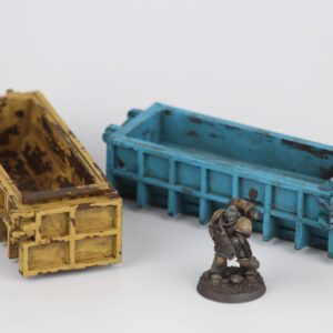 Dumpster - 28mm MDF Industrial Container Terrain Kit
